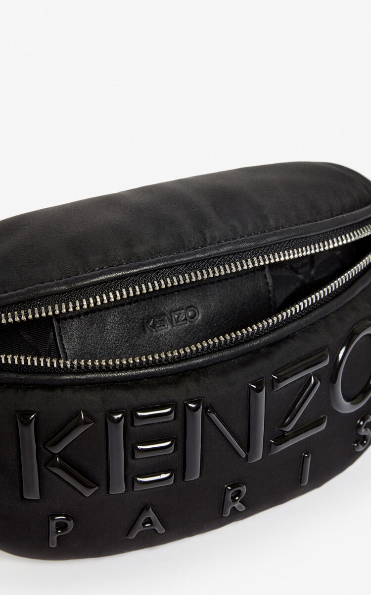 BLACK Kombo belt bag for global.none KENZO
