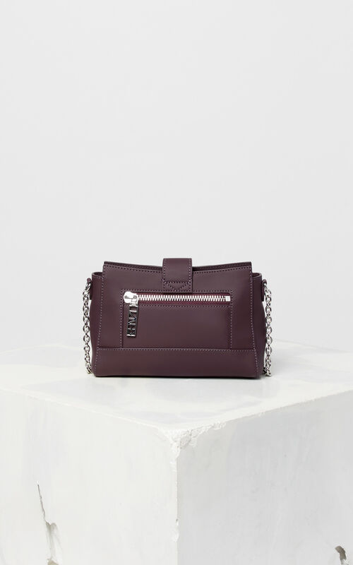 PRUNE Tiny leather Kalifornia bag for unisex KENZO