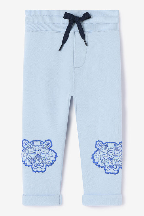 SKY BLUE Tiger Jogg Pants for women KENZO