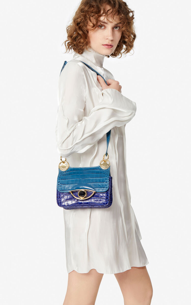 DUCK BLUE Mini TALI crossbody bag for unisex KENZO