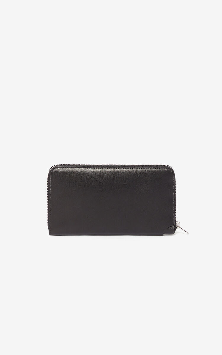 BLACK Eye wallet for women KENZO