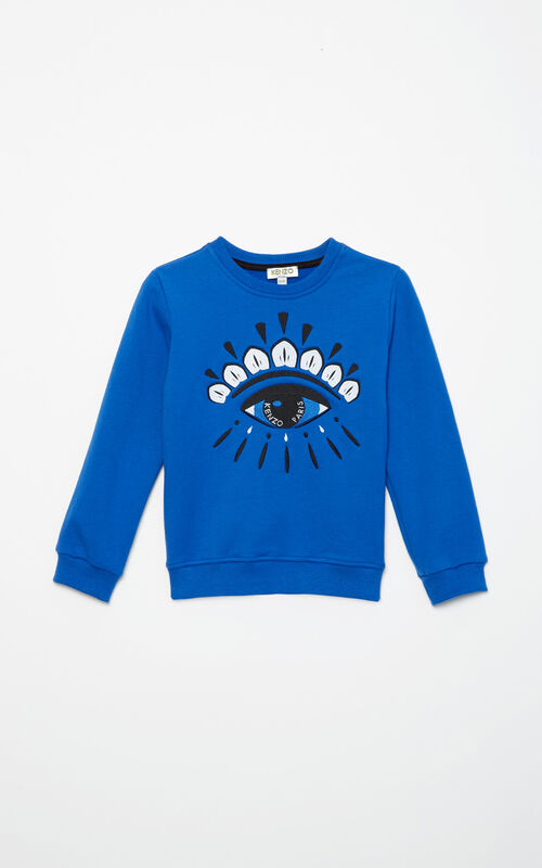 FRENCH BLUE Eye Sweatshirt for women KENZO