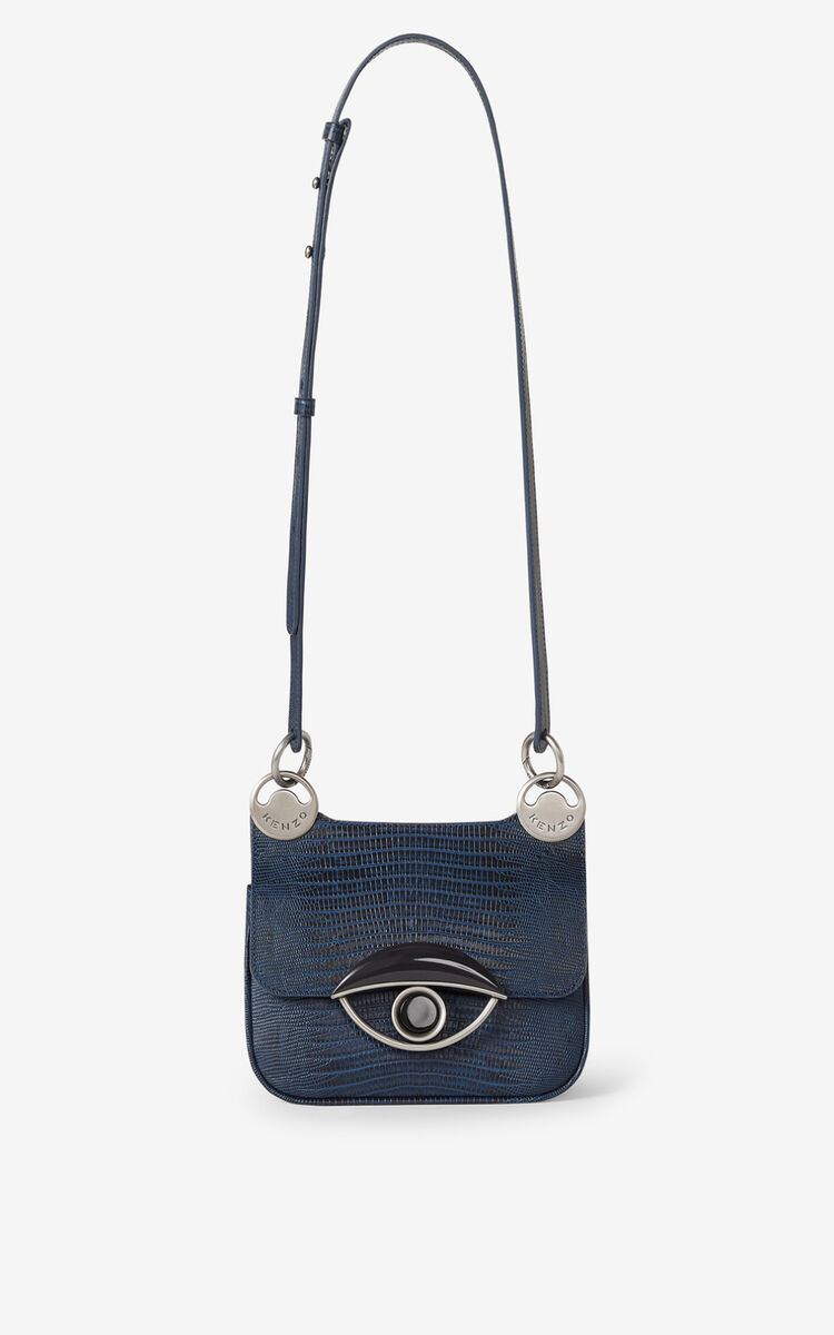 NAVY BLUE TALI mini leather handbag for women KENZO
