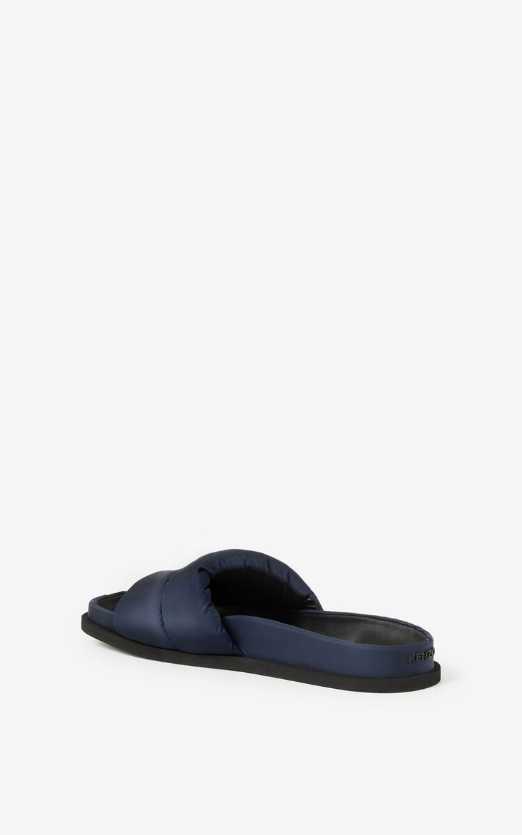 NAVY BLUE Komfy mules for men KENZO