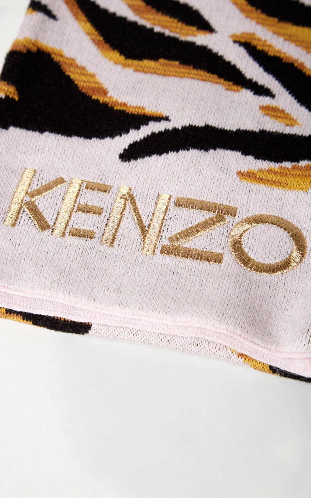 PEARL GREY Tiger Stripes 'scarf for women KENZO