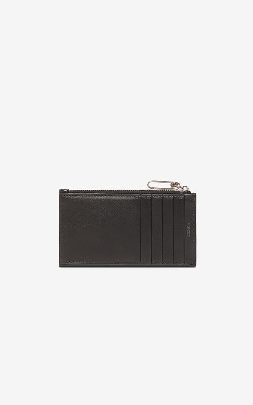 BLACK Kontrast card holder for unisex KENZO