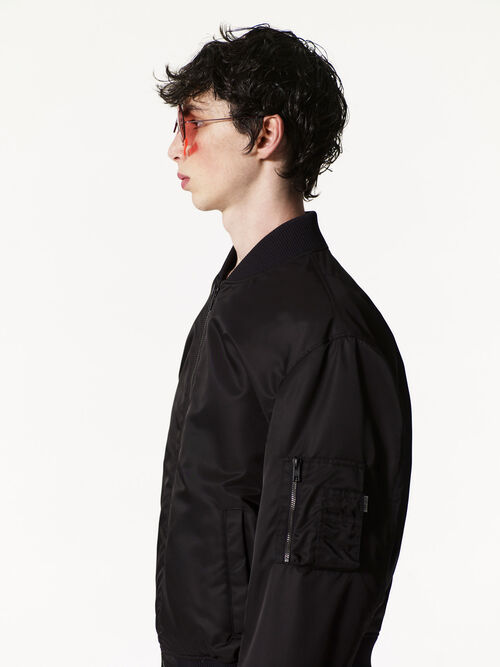 BLACK KENZO Bomber for men