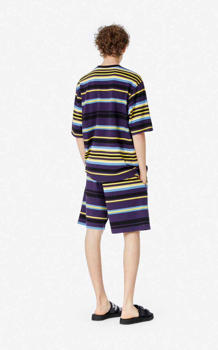 AUBERGINE Striped t-shirt  for women KENZO