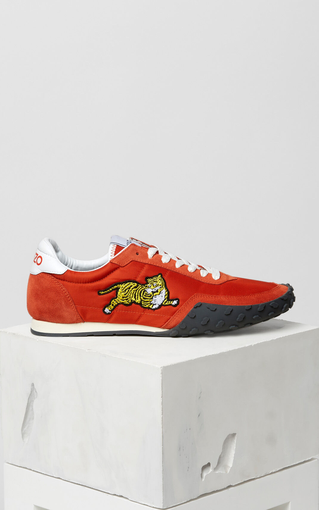 RED ORANGE KENZO Move Sneaker for men