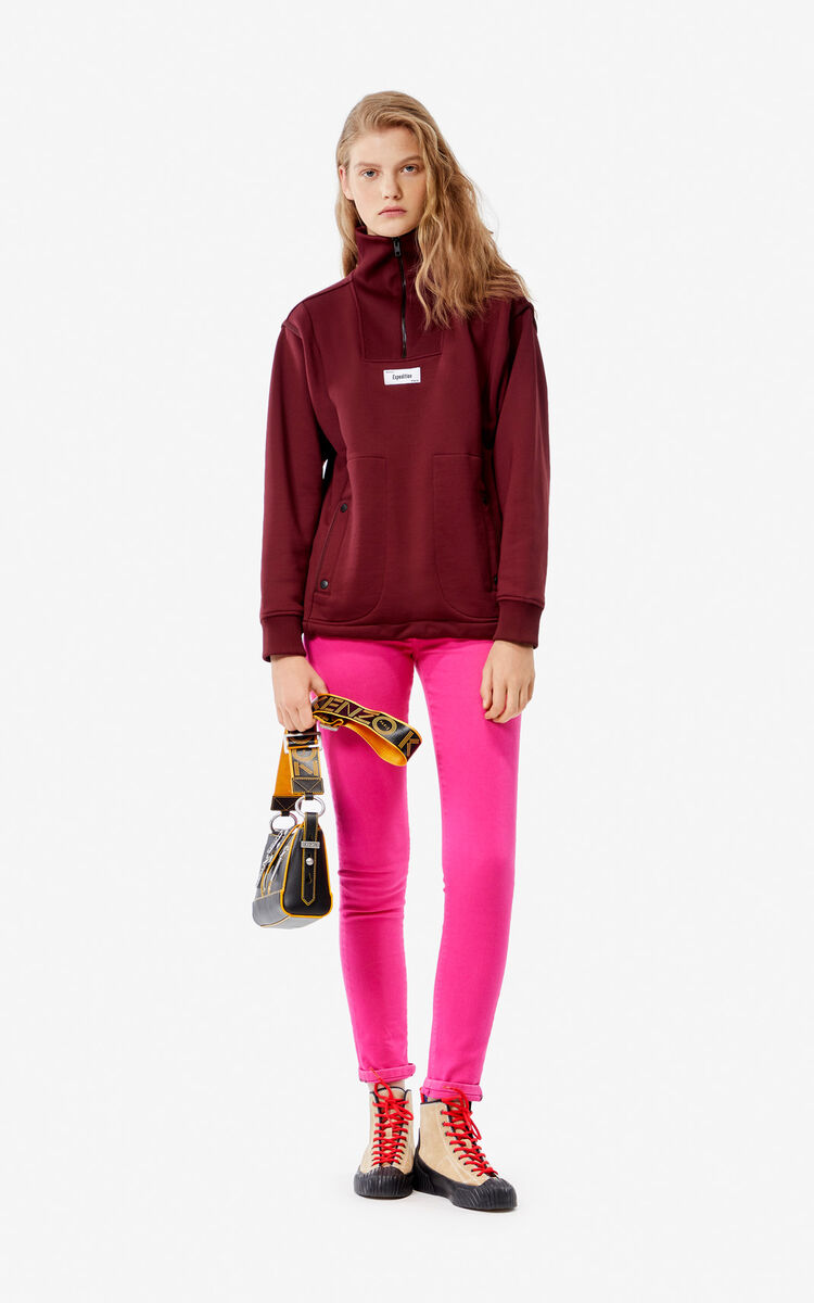 BORDEAUX 'Expedition' sweatshirt for women KENZO