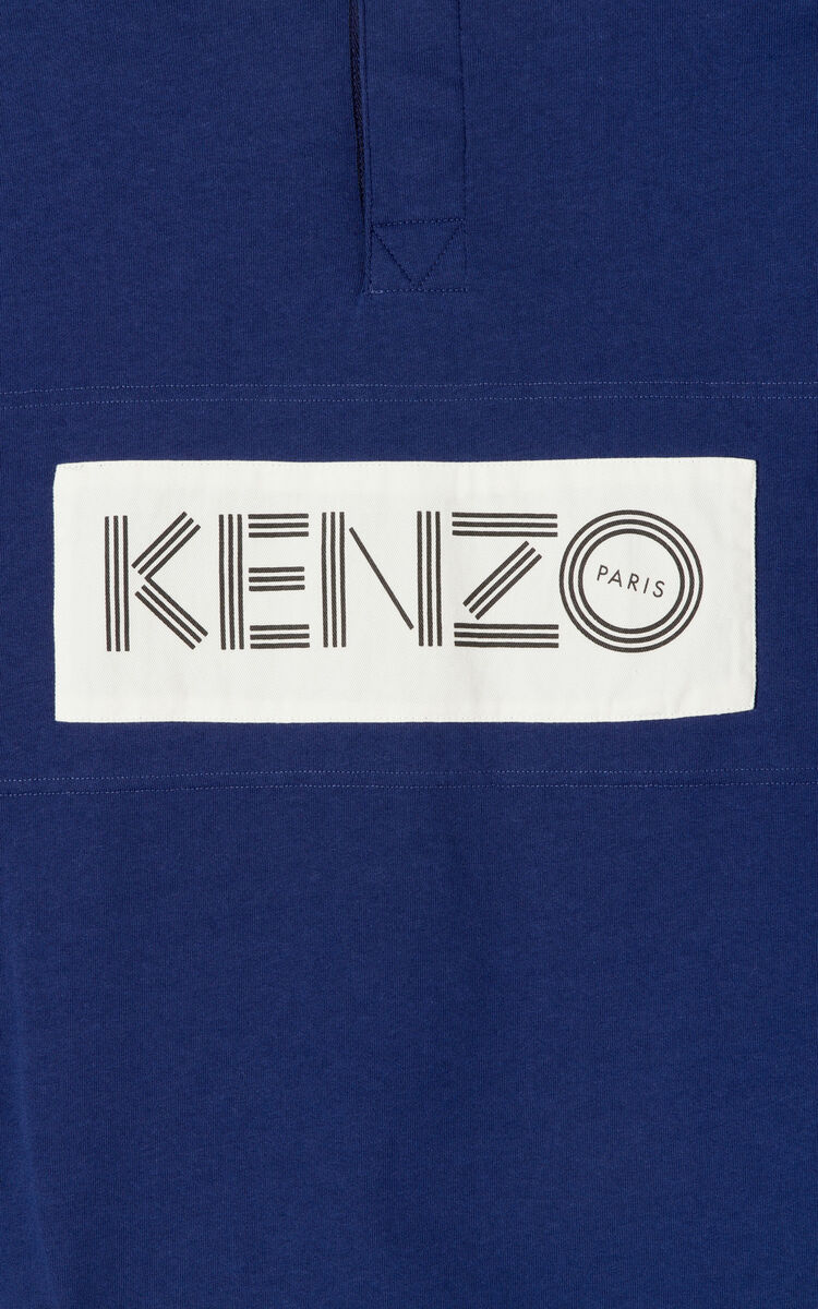 INK KENZO colorblock regular fit polo shirt for women