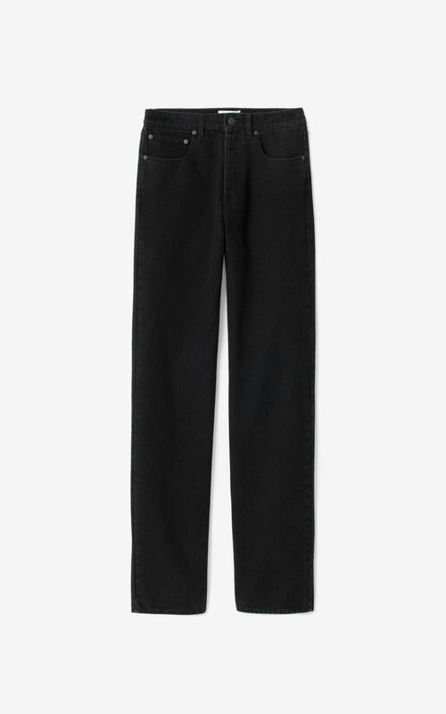 BLACK Straight-cut jeans for unisex KENZO