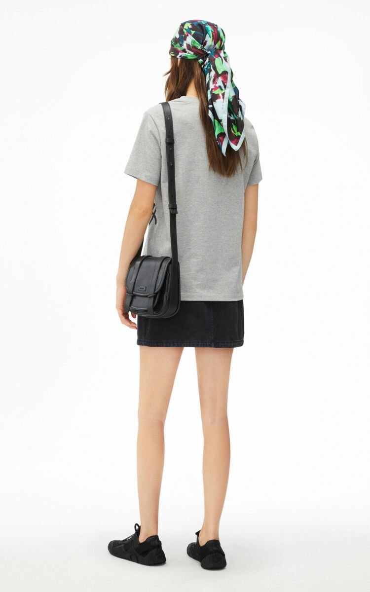 PEARL GREY K-Tiger loose-fitting T-shirt for women KENZO