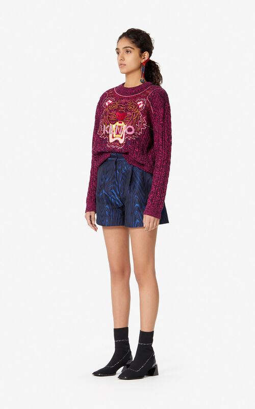 BEGONIA 'Claw Tiger' jumper for women KENZO