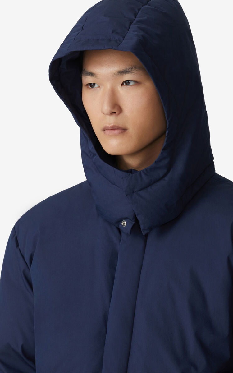 NAVY BLUE Parka for women KENZO