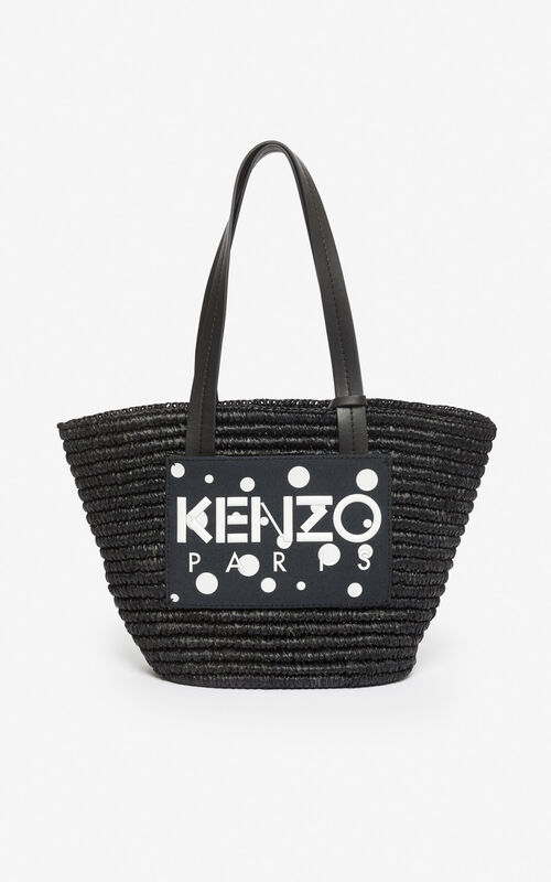 BLACK 'Dots' Summer Basket 'High Summer Capsule collection' for unisex KENZO