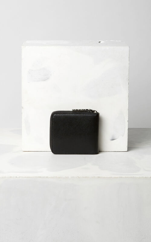BLACK Squared Eye purse for unisex KENZO