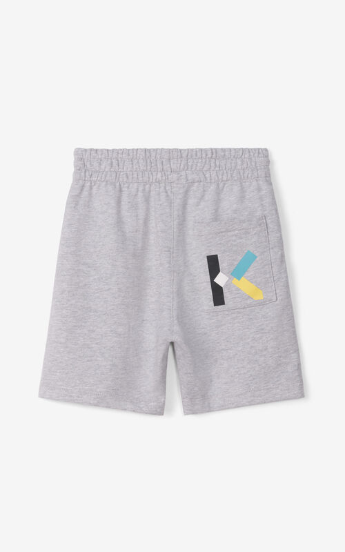 PEARL GREY Loose shorts for women KENZO