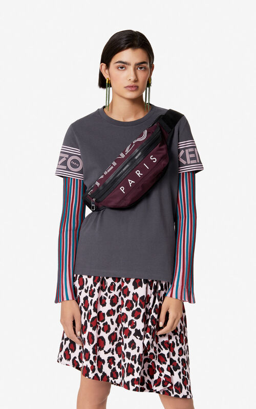 BORDEAUX KENZO Logo bumbag for women