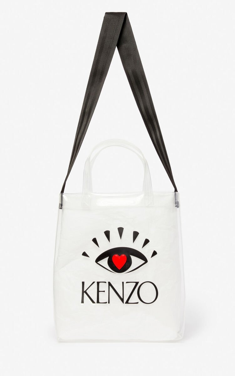 WHITE Tote bag for unisex KENZO