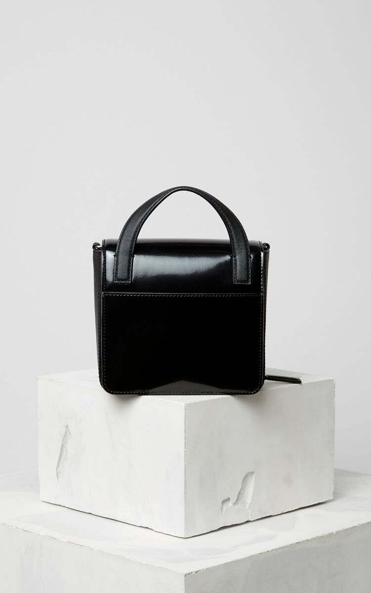 BLACK Polished Sailor bag for unisex KENZO