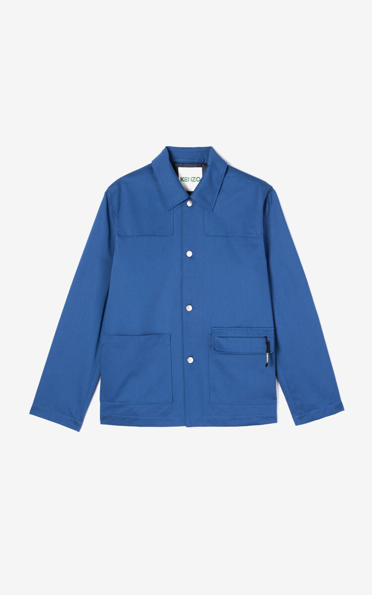 NAVY BLUE 'Workwear' jacket for men KENZO