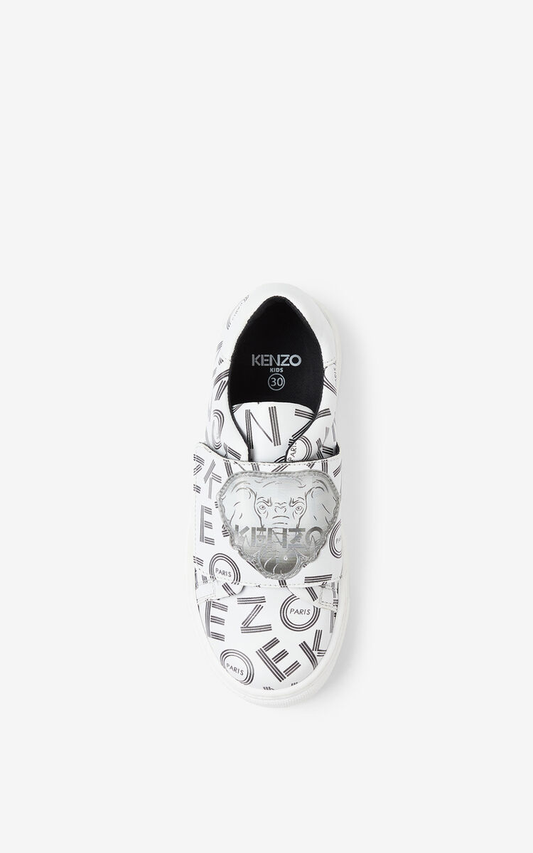 WHITE 'Ventura' low-top sneakers. for men KENZO