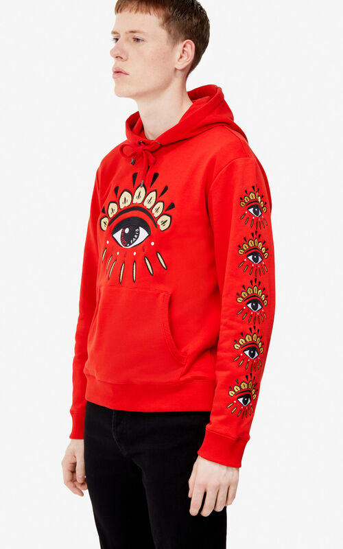 a4a50d44a97 VERMILLION Multi Eye hoodie for men KENZO ...