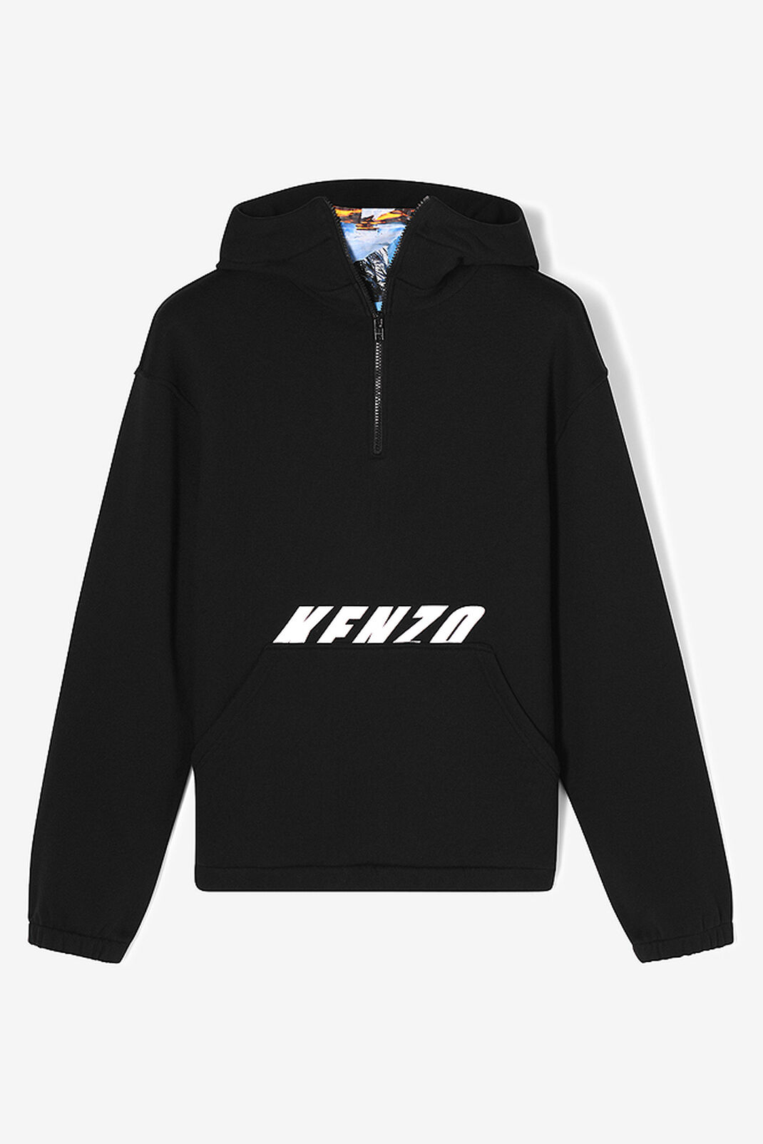 BLACK KENZO x 'Tropical Ice' hoodie for women