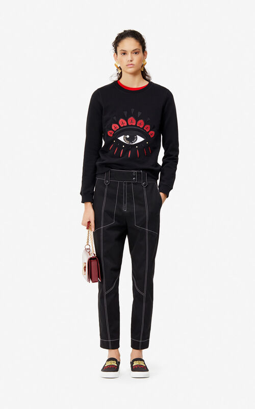 BLACK Eye sweatshirt 'Exclusive Capsule' for women KENZO