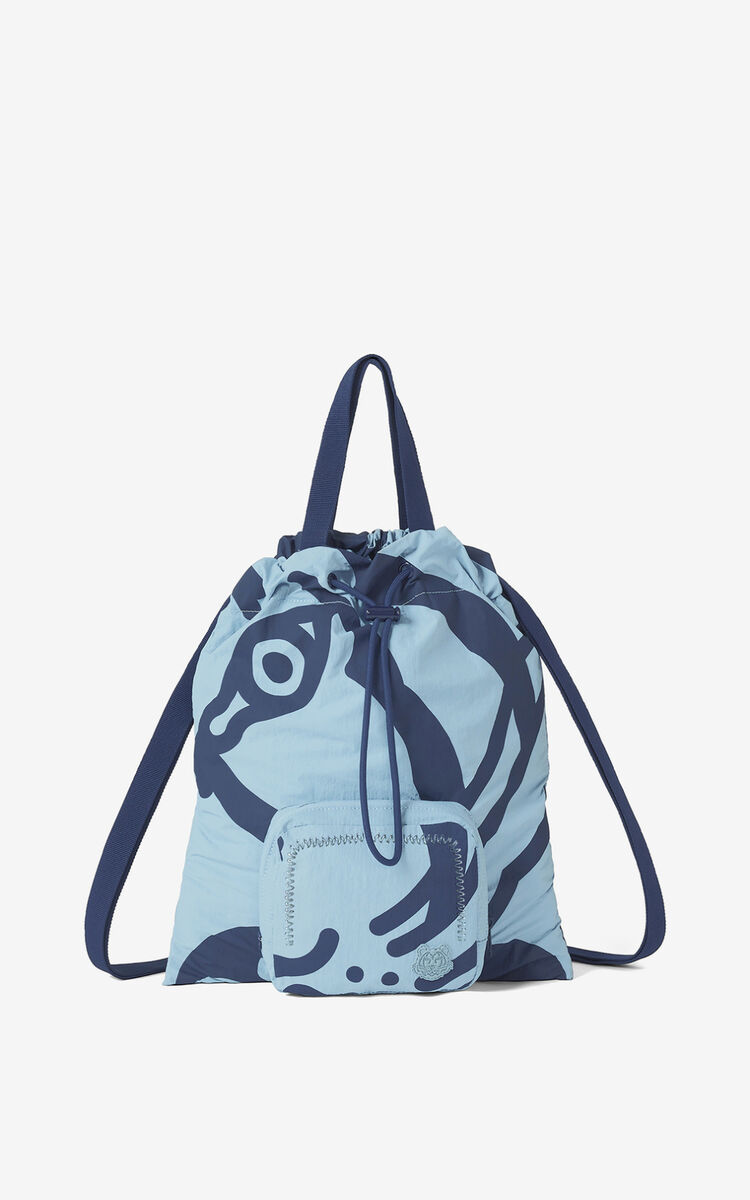 GLACIER K-Tiger foldable backpack for unisex KENZO
