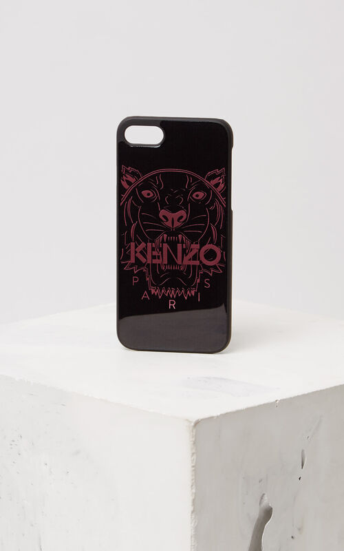 PASTEL PINK 3D Tiger iPhone 7 case for unisex KENZO