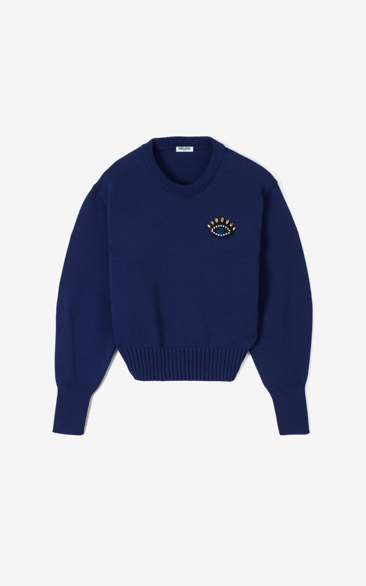 AUBERGINE Eye jumper for women KENZO