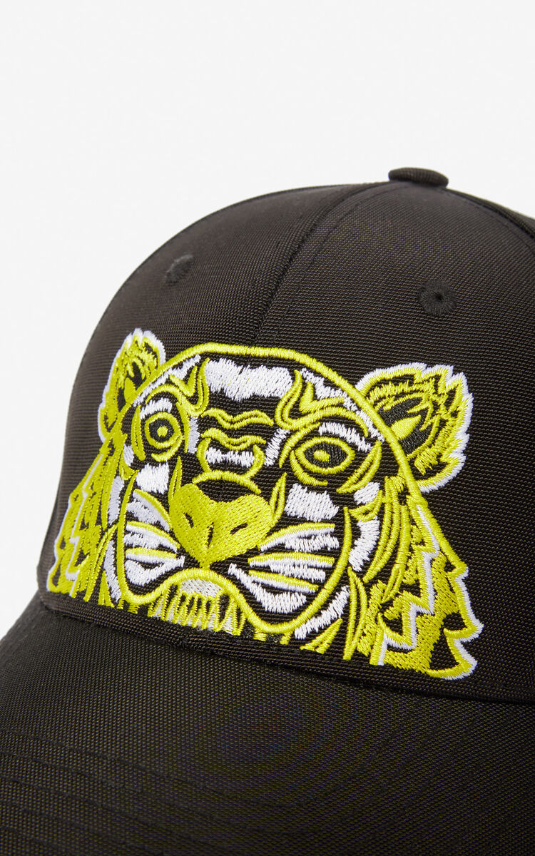 BLACK Tiger baseball cap for men KENZO