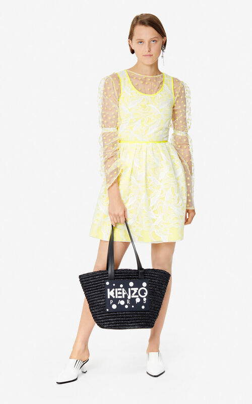 BLACK 'Dots' Summer Basket 'High Summer Capsule collection' for women KENZO