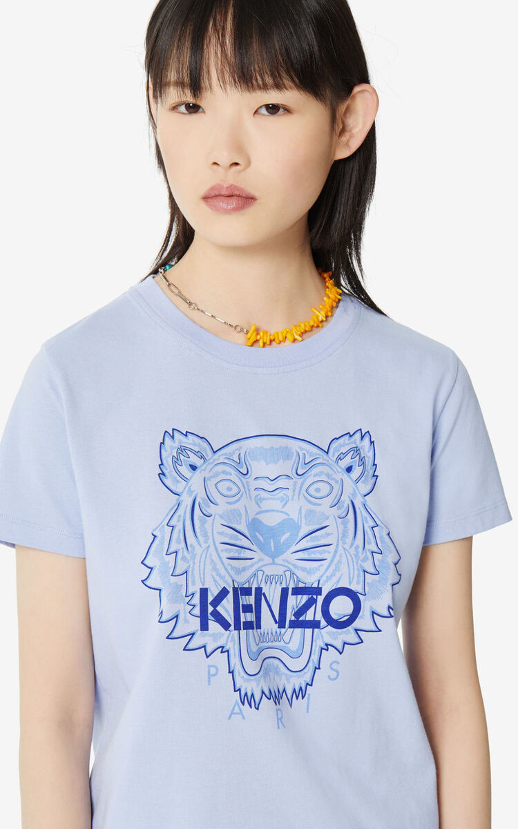 LAVENDER 'High Summer Capsule Collection' Tiger t-shirt for women KENZO