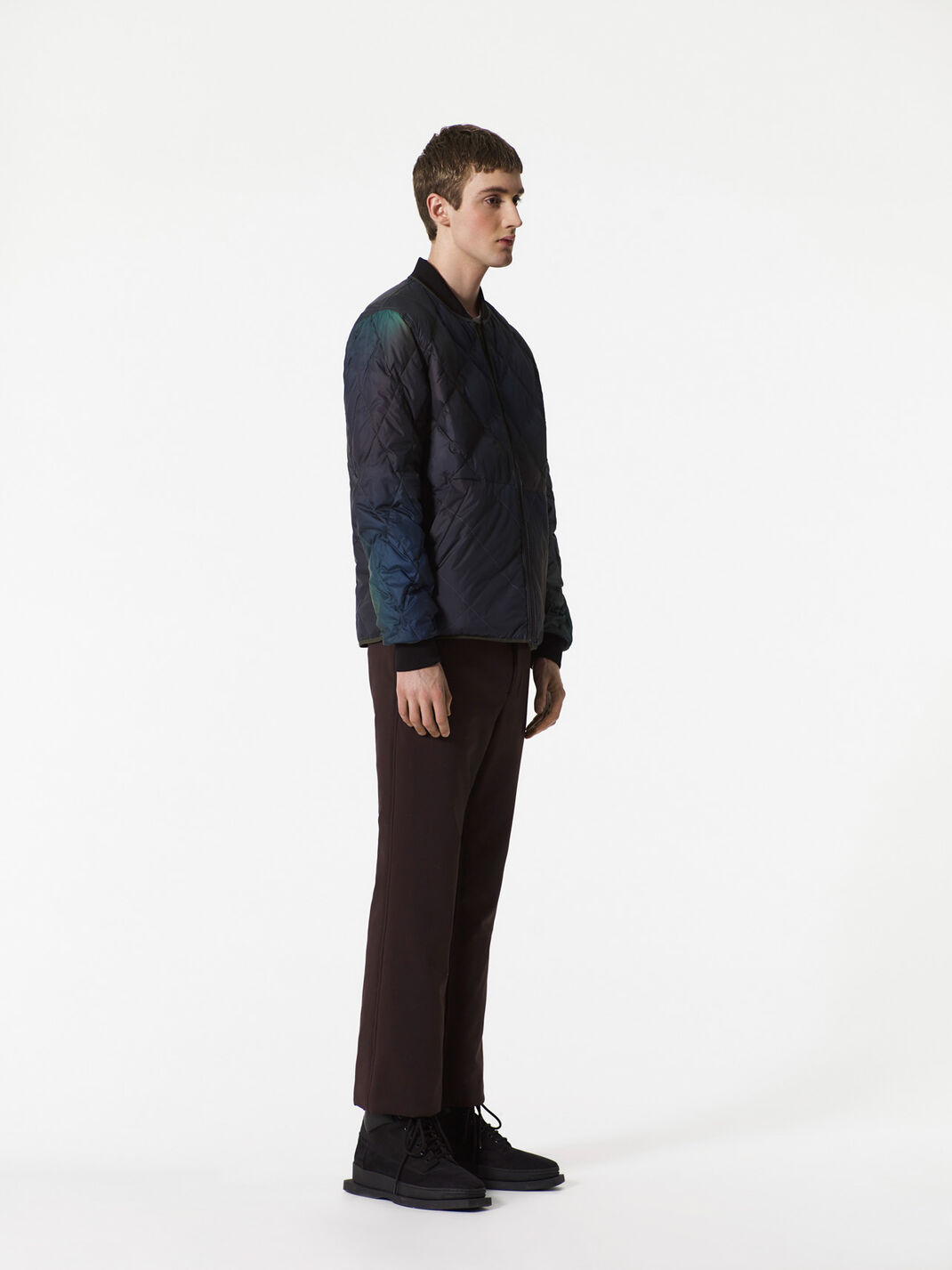NAVY BLUE Northern Lights' reversible jacket for men KENZO
