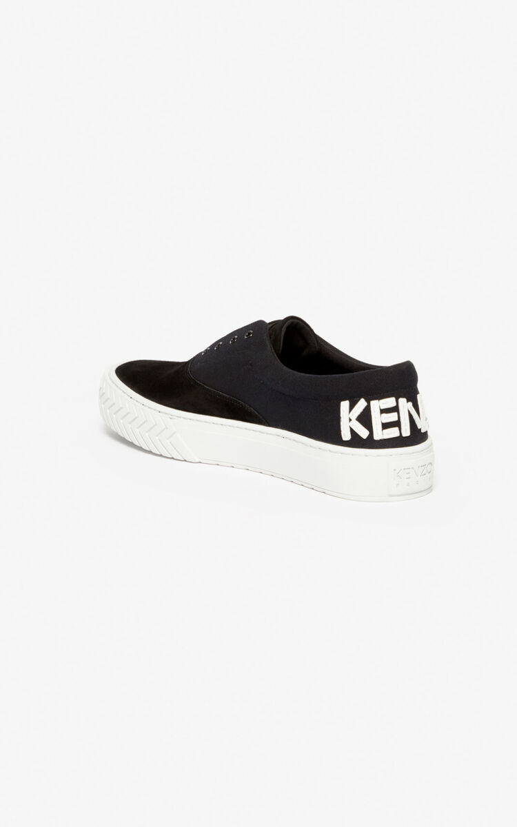 BLACK K-Skate sneakers for unisex KENZO