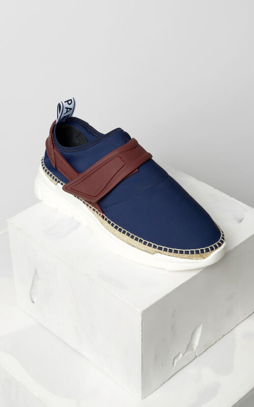 NAVY BLUE K-lastic espadrilles for men KENZO