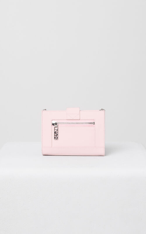 FADED PINK Kalifornia Wallet on Chain Gommato Leather for unisex KENZO
