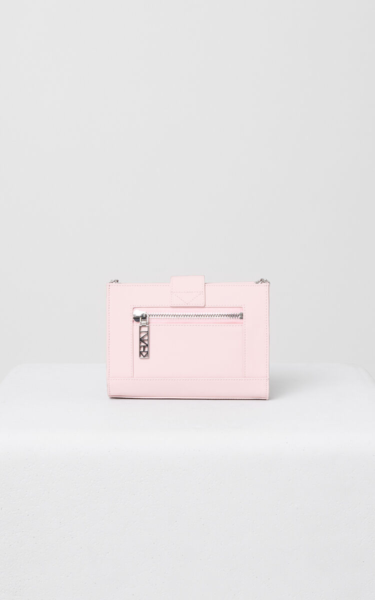 FADED PINK Kalifornia Wallet on Chain Gommato Leather for women KENZO