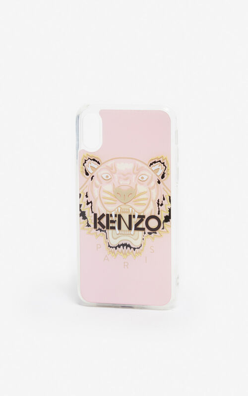 PASTEL PINK iPhone X/XS Tiger case for unisex KENZO