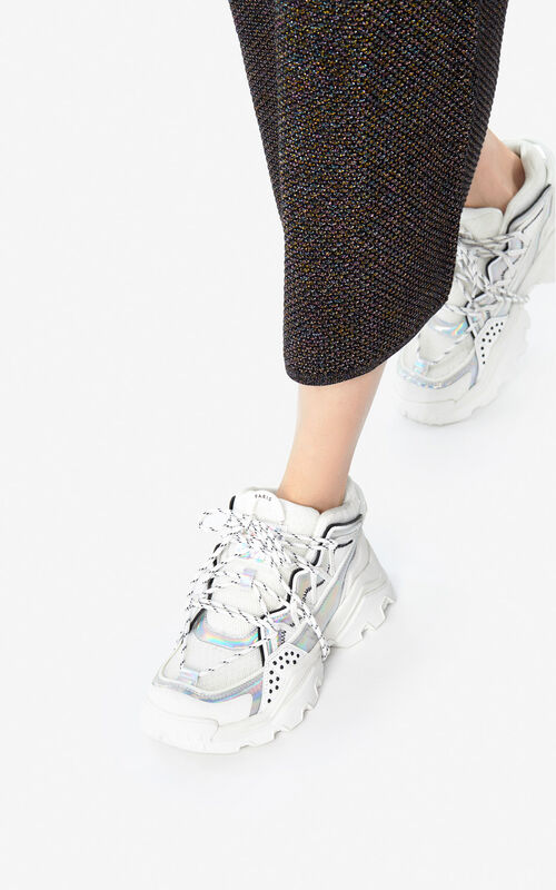 WHITE 'Holiday Capsule' Inka sneakers for women KENZO