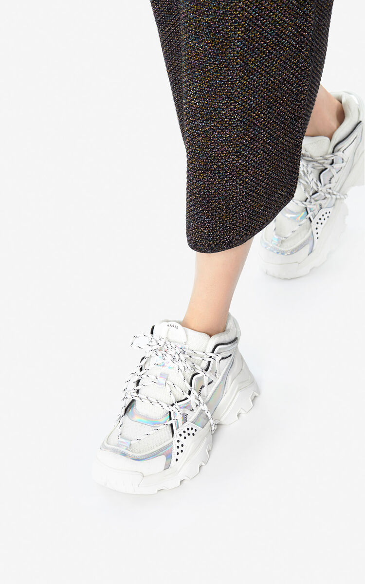 WHITE 'Holiday Capsule' Inka sneakers for unisex KENZO