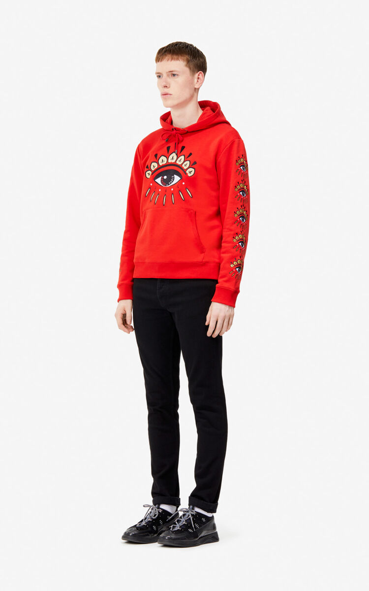 VERMILLION Multi Eye hoodie for men KENZO