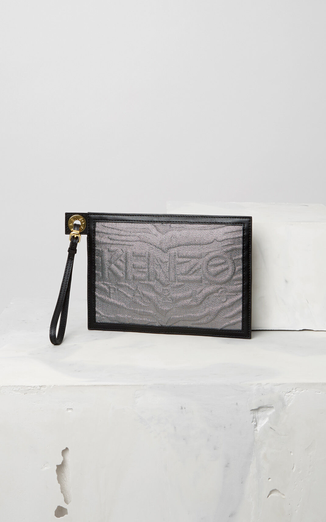 SILVER A5 Kombo Clutch for women KENZO