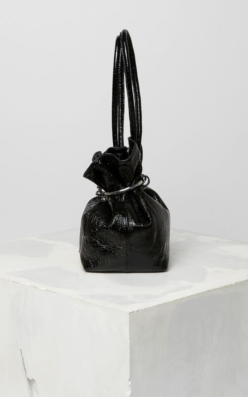 BLACK Gyoza purse for unisex KENZO