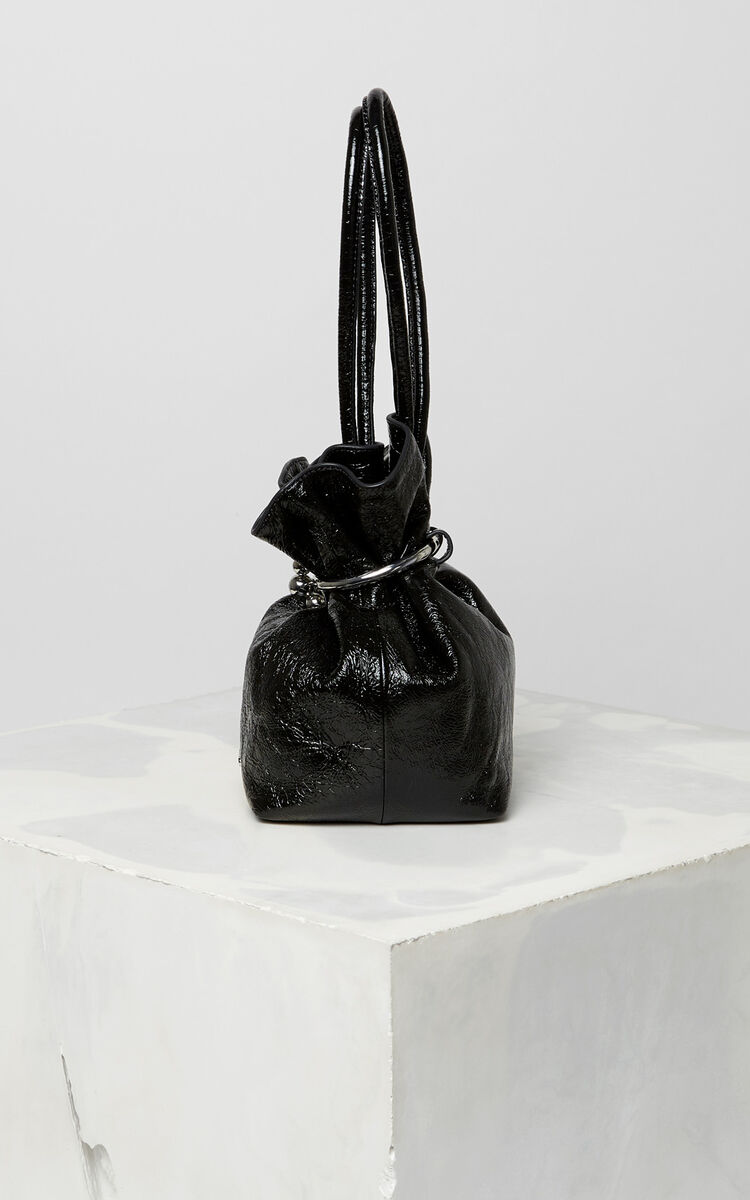 BLACK Gyoza purse for women KENZO
