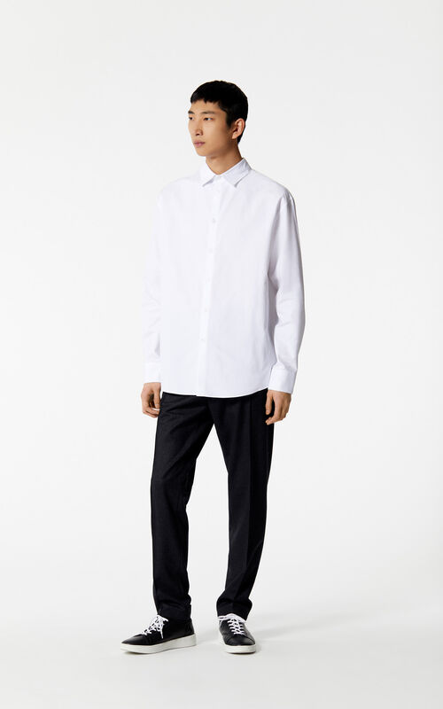 WHITE KENZO Paris shirt for men