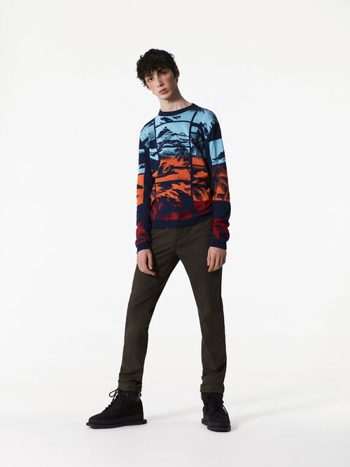 MULTICOLOR Tropical Ice Sweater for men KENZO